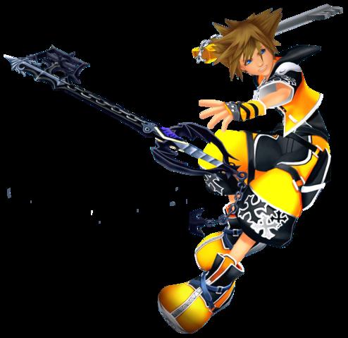 File:Sora (Master Form) KHII.png