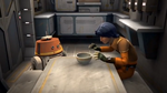 Star Wars Rebels Ezra and Chopper