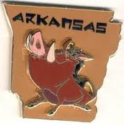 Arkansas Pin