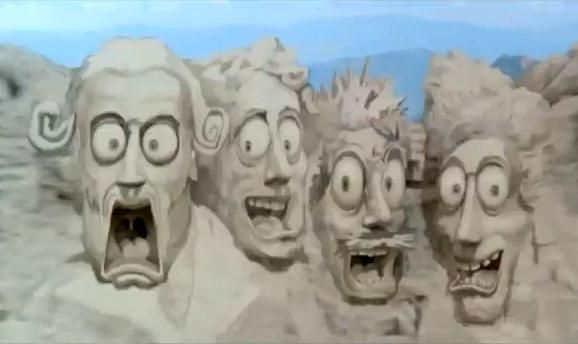 Image result for mt rushmore scared