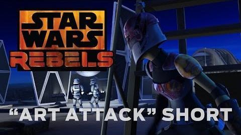 """Star Wars Rebels """"Art Attack"""" Short"""