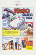 Pluto saves the ship