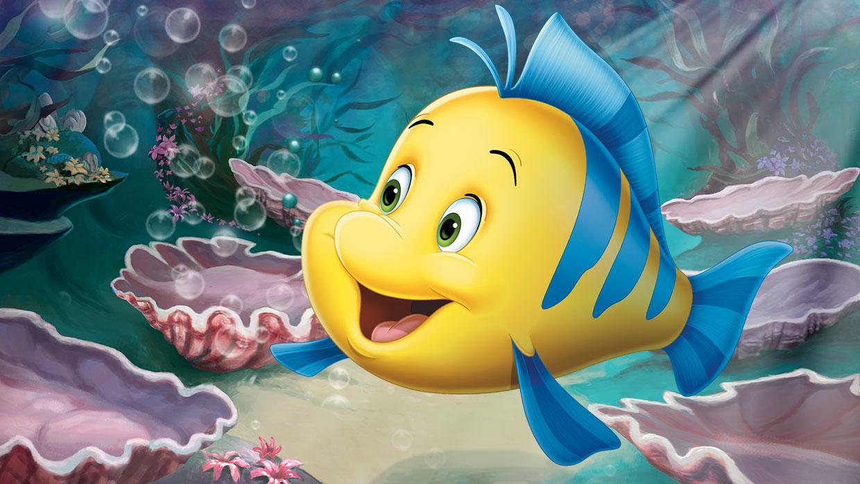 Image the little mermaid disney wiki for Disney fish names