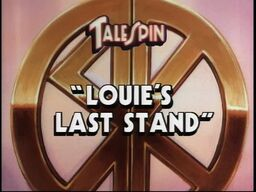Louie's Last Stand titlecard