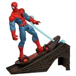 SPIDER MAN WITH HOVER BOARD AND RAMP 3.75' Act Fig