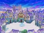 Daybreak Town Winter