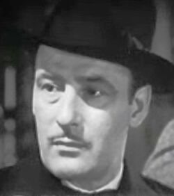 Tom Conway in Grand Central Murder trailer headcrop