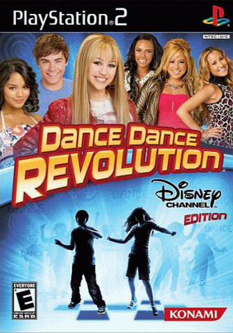 File:Dance Dance Revolution Disney Channel Edition cover art.png