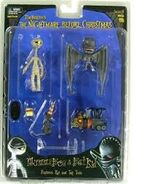 Mummy and Winged Demon Figures