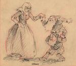 Snow White storyboard