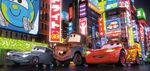 Cars2 FinnMaterLightningMcQueen