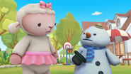 Lambie and chilly