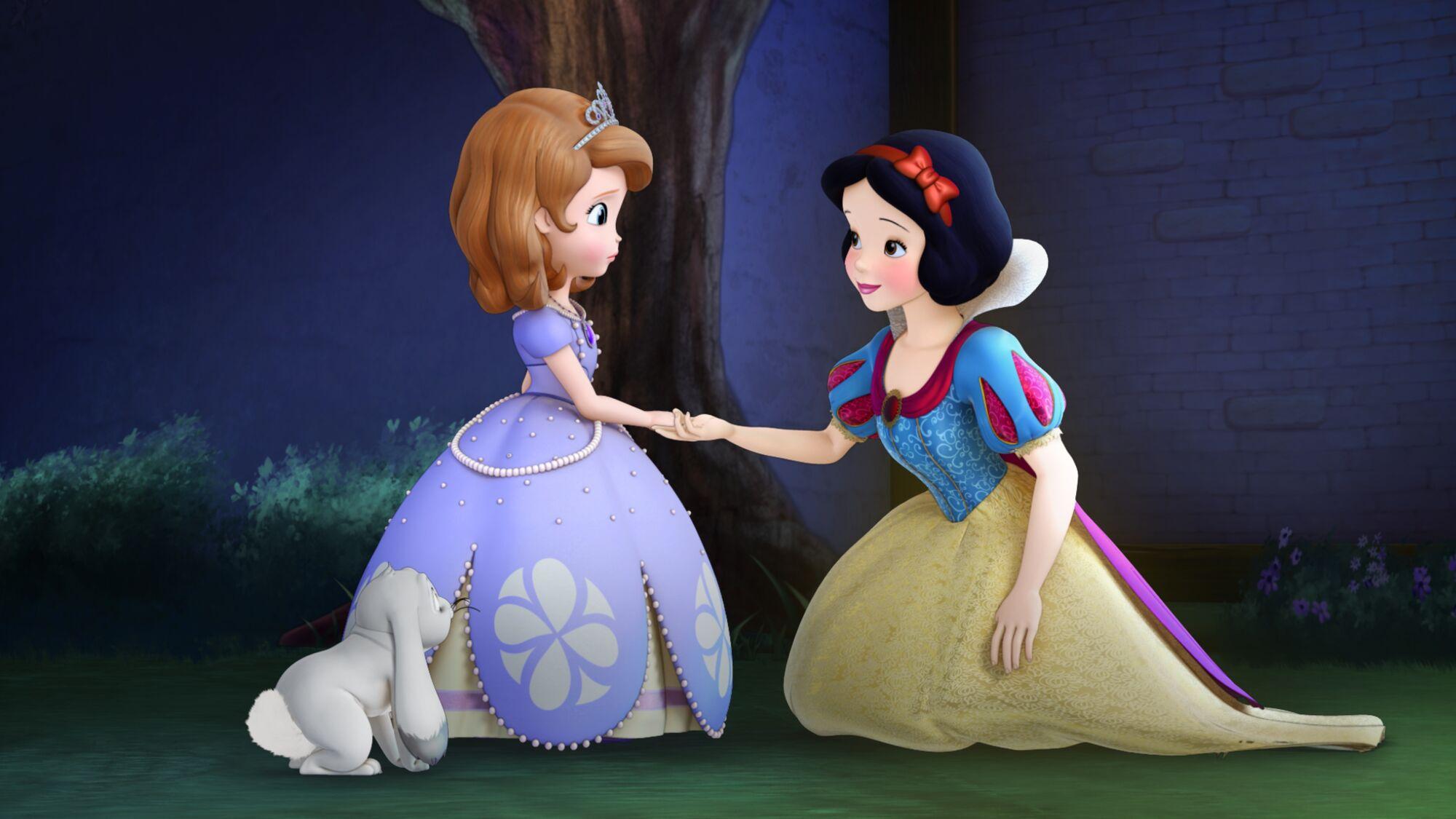 Image sofia and snow white jpg disney wiki fandom powered by wikia
