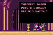 Disney's Magical Quest 2 Starring Mickey and Minnie Ending 2