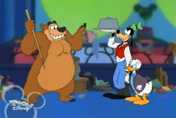 Image humphrey with goofy and disney wiki for American classic house mouse