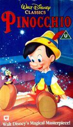 Pinocchio uk vhs