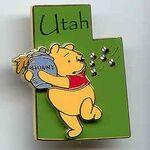 Disney Utah Pin