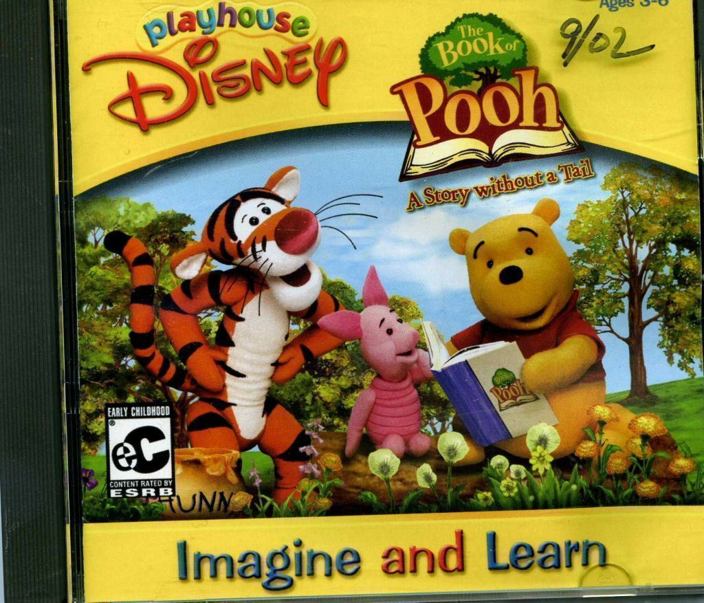 Game boy color pooh wiki - The Book Of Pooh A Story Without A Tail Disney Wiki Fandom Powered By Wikia