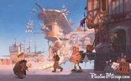 Clements and Musker Treasure Planet