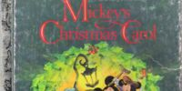 Mickey's Christmas Carol (Little Golden Book)