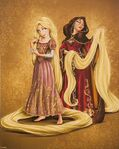 Designer Collection - Rapunzel and Gothel