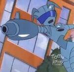 Agent X Megabuster