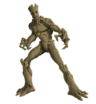 Groot Animated Render 01