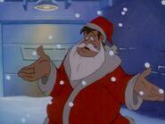 Lucky as Santa