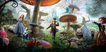 Alice in Wonderland Textless Banner