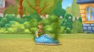 Army al in a stinky shoe