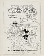Mickey's Trailer One Sheet
