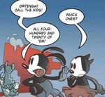 420 Bunny Children in the Tales of Wasteland Comics