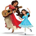Elena & Isabel dancing