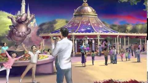 Fantasia Carousel - Shanghai Disneyland