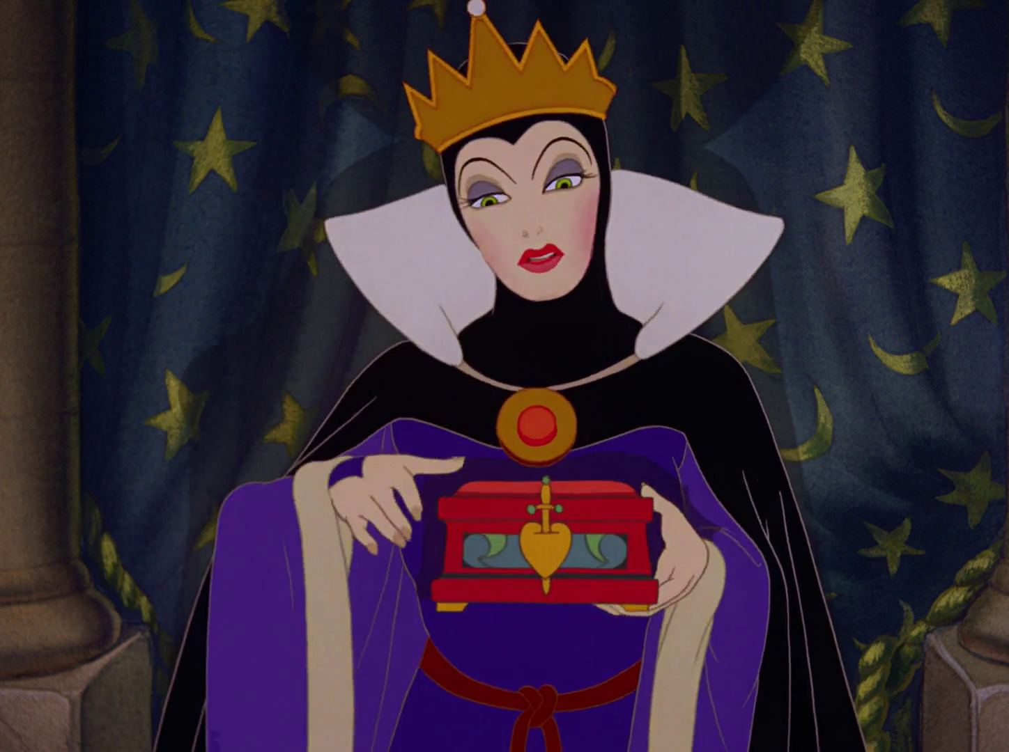 Image evil queen snow white and the seven dwarfs 1937 - Evil queen disney ...