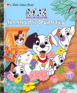 Rainbow puppies