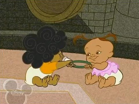 File:Bebe and Cece With A Toy.jpg