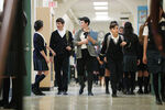 Once Upon a Time - 6x04 - Strange Case - Photography - Snow and Henry in School