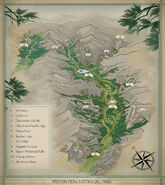 Piston Peak National Park map