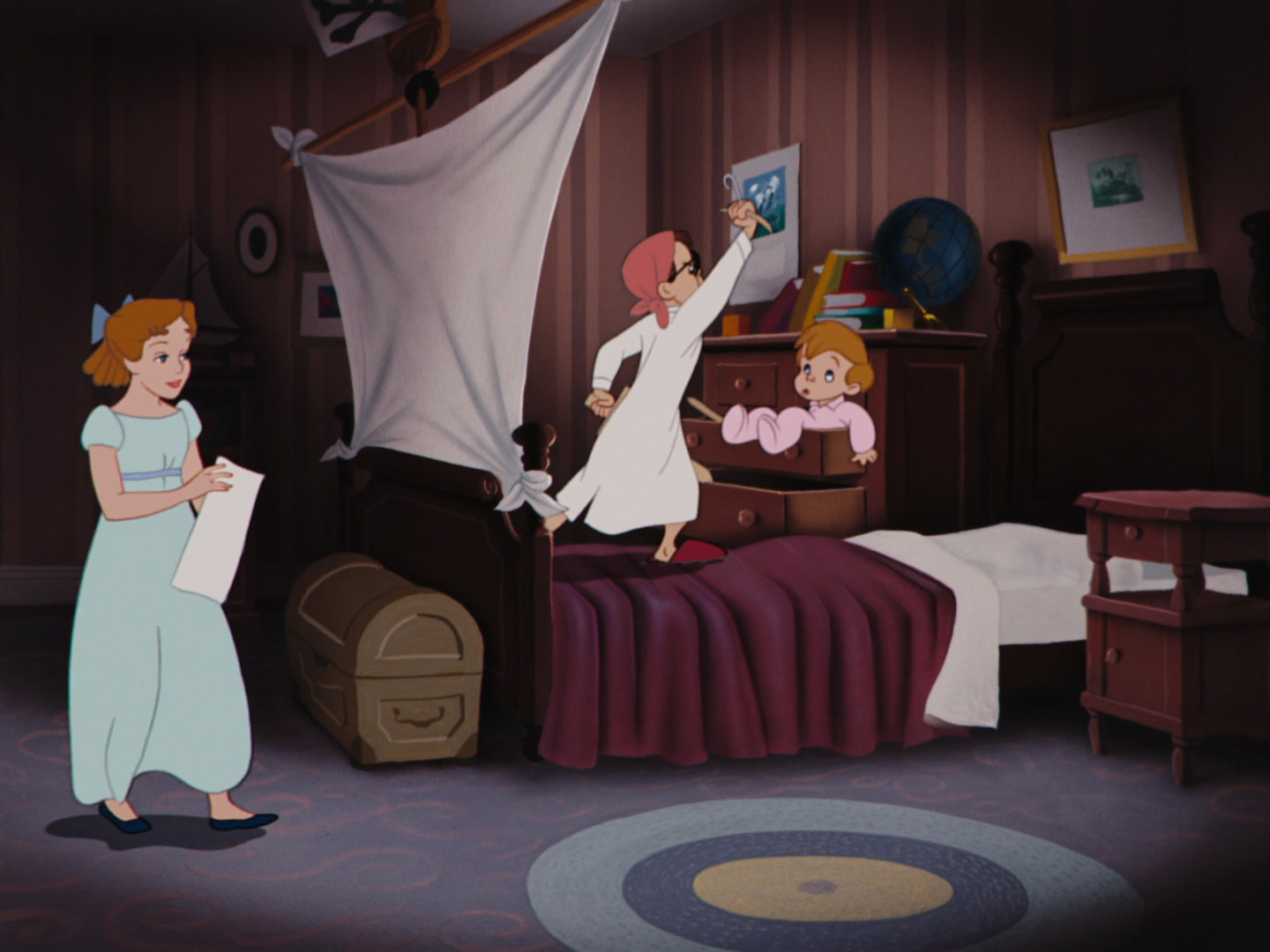 Nursery Peter Pan Disney Wiki Fandom Powered By Wikia