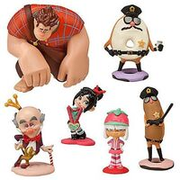 Disney Wreck-It Ralph Sugar Rush Figurine Playset - 6 Figures