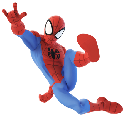 Image Spider Man Di Webslinging Render Png Disney Wiki