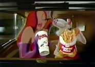 Roger Rabbit in McDonalds reclame