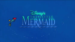 The little mermaid tv show title card