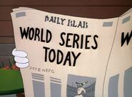 World Series Today Newspaper Ad
