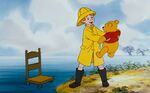 Christopher Robin Pooh thank goodness your safe