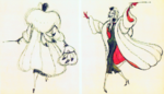 Cruella de vil by marc davis 2