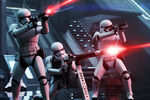First Order Stormtroopers Firing