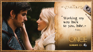 Once Upon a Time - 5x07 - Nimue - Emma and Hook - Quote