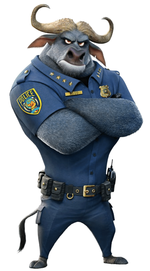 how tall is chief bogo